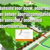 Subsidieregeling stimulering bouw en onderhoud sportaccommodaties (BOSA); € 87 miljoen beschikbaar!