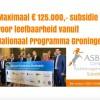 Subsidieregeling Impulsloket Nationaal Programma Groningen; maximaal € 125.000,- subsidie voor verbeteren leefbaarheid door stichtingen, verenigingen, coöperaties zonder winstoogmerk of kleinschalige ondernemingen