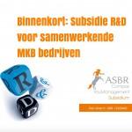 Vanaf begin juni weer subsidie voor R&D samenwerkingsprojecten (MIT R&D subsidie)