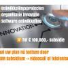 Vanaf 4 mei weer subsidie voor (software) ontwikkelingsprojecten en organisatie innovatie – VIA 2020